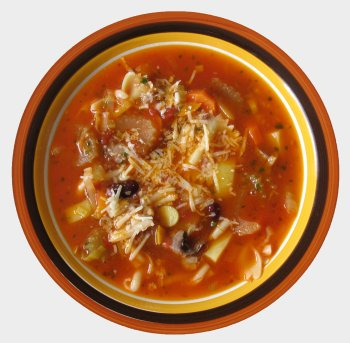 Suppe aus Italien - Minestrone